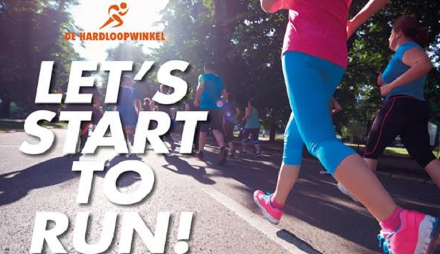 Start to run with the Hardloopwinkel en Rotterdam sight Running Tours